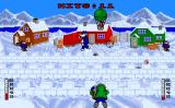 Eskimo Games Amiga Shooting your friends (?) with snowballs.