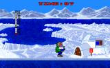 Eskimo Games Amiga Carrying a block of ice to your igloo.