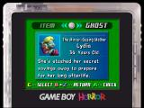 Luigi's Mansion GameCube There's a short description of each ghost