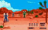 Buffalo Bill's Wild West Show Amiga Trick shooting - Shoot the bad guys and avoid hitting the good guys