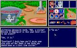The Jetsons: George Jetson and the Legend of Robotopia Amiga Information booth on Robotopia.