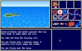 The Jetsons: George Jetson and the Legend of Robotopia Amiga Flying over the ocean.