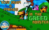 Yogi Bear & Friends in the Greed Monster: A Treasure Hunt Atari ST Title screen.
