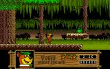 Yogi's Great Escape Amiga In the forest