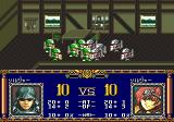 Langrisser II Genesis Battle sequence in a house