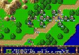 Langrisser II Genesis Enemy proceeds on the road