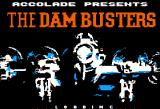 The Dam Busters Apple II Title screen.