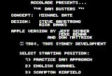 The Dam Busters Apple II Select where to start.