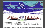 Ace of Aces Commodore 64 Title screen 2.