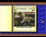 Sherlock Holmes: Consulting Detective CDTV The Mummy's Curse - Intro - Watson reads the newspaper