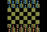 Battle Chess Apple II 2D board.