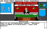Déjà Vu II: Lost in Las Vegas Apple IIgs Blackjack dealer.
