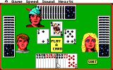 Hoyle: Official Book of Games - Volume 1 DOS Hearts - play a card to end the trick.