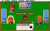 Hoyle: Official Book of Games - Volume 1 Atari ST Old Maid - Removing pairs.
