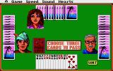 Hoyle: Official Book of Games - Volume 1 Atari ST Hearts - Pick three cards to pass.