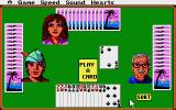 Hoyle: Official Book of Games - Volume 1 Atari ST Hearts - Play a card.