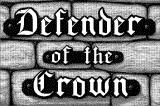 Defender of the Crown Macintosh Title screen