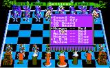 Battle Chess DOS In-game menus (CGA w/composite monitor)