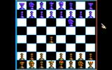 Battle Chess DOS 2-D board view (CGA w/composite monitor)