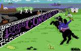 Lords of Conquest Commodore 64 Title screen.