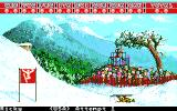 Winter Games Apple IIgs Hot Dog - Another one bites the snow!