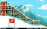 Winter Games Apple IIgs Ski Jump