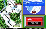 Winter Games Apple IIgs Bobsled - Hi, I'm Bob, and this is my sled!