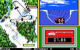 Winter Games Apple IIgs Bobsled - Crashed!