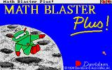 Math Blaster Plus! Amiga Title screen.