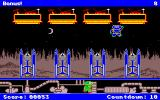 Math Blaster Plus! Amiga Blasternauts - Bonus stage - time a rocket launch to rescue your friend.