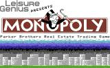 Monopoly Commodore 64 Title screen. (US release)
