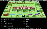Monopoly Commodore 64 Setting up players. (US release)