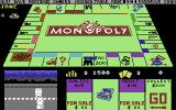 Monopoly Commodore 64 Computer player rolling dice. (US release)