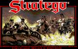Stratego Amiga Title screen.