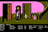 Maniac Mansion Apple II The mansion's foyer.