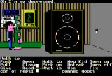 Maniac Mansion Apple II Green Tentacle tells his sad life's story...