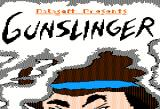 Gunslinger Apple II Title screen.