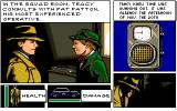 Dick Tracy: The Crime-Solving Adventure Amiga Squad room.