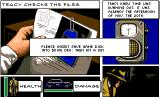 Dick Tracy: The Crime-Solving Adventure Amiga Checking the files - the way to save the game.