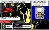 Dick Tracy: The Crime-Solving Adventure DOS Talking to the Kid.