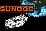 SunDog: Frozen Legacy Apple II Title screen.