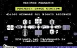 Project: Space Station Commodore 64 Loading screen.