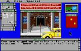 Déjà Vu II: Lost in Las Vegas Atari ST Outside Chicago train station.