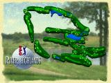 PGA Tour 96 PlayStation An overview of the River Highlands course
