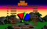 Time Machine Amiga High score list.