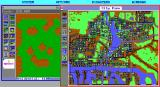 SimCity Graphics Set 1: Ancient Cities DOS Changed the graphics to Ancient Asia. (EGA HI-RES)