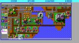 SimCity Graphics Set 1: Ancient Cities DOS Medieval times set. Nice castle! (EGA HI-RES)