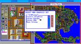 SimCity Graphics Set 2: Future Cities DOS Choose a graphics set to load. (EGA)