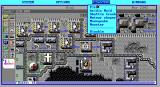 SimCity Graphics Set 2: Future Cities DOS Moon Colony - The disasters have been modified to fit the scenario. (EGA)