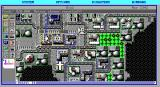 SimCity Graphics Set 2: Future Cities DOS Moon Colony - Meteor shower reported! (EGA)